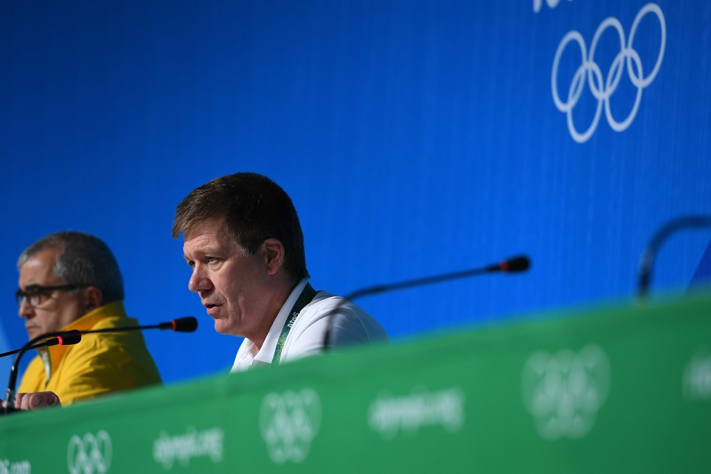 International Olympic Committee medical and scientific director Richard Budgett insisted the anti-doping programme at Rio 2016 was a success, despite evidence to the contrary ©Getty Images