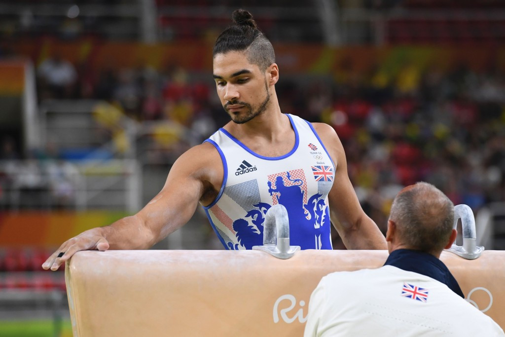 Louis Smith has been given a two month suspension by British Gymnastics ©Getty Images
