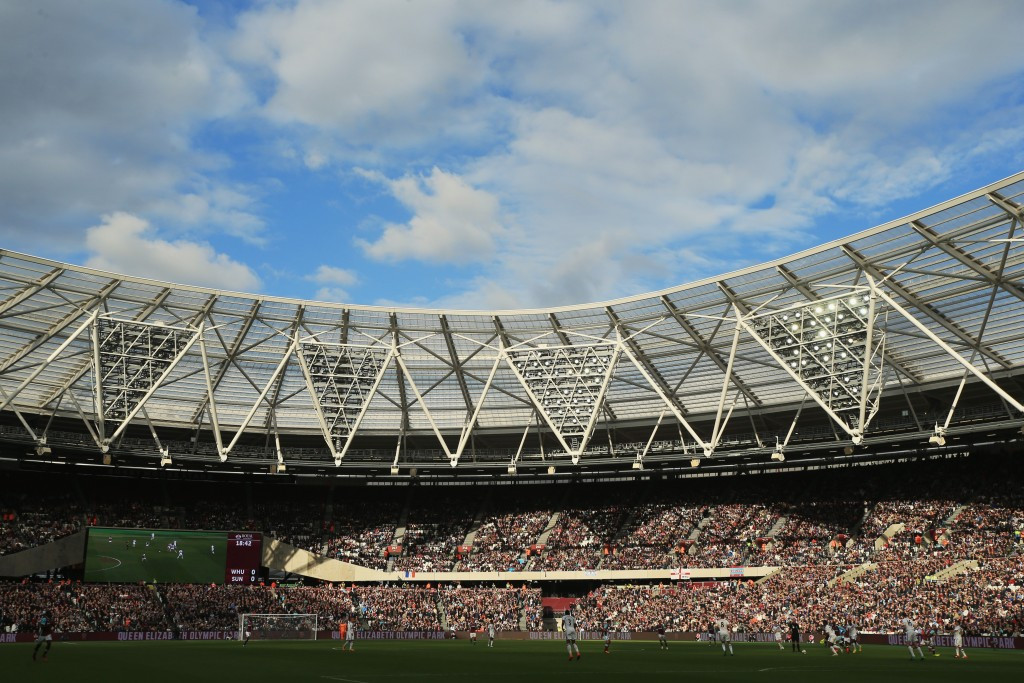Many supporters have complained the Olympic Stadium is not fit to stage Premiership football ©Getty Images