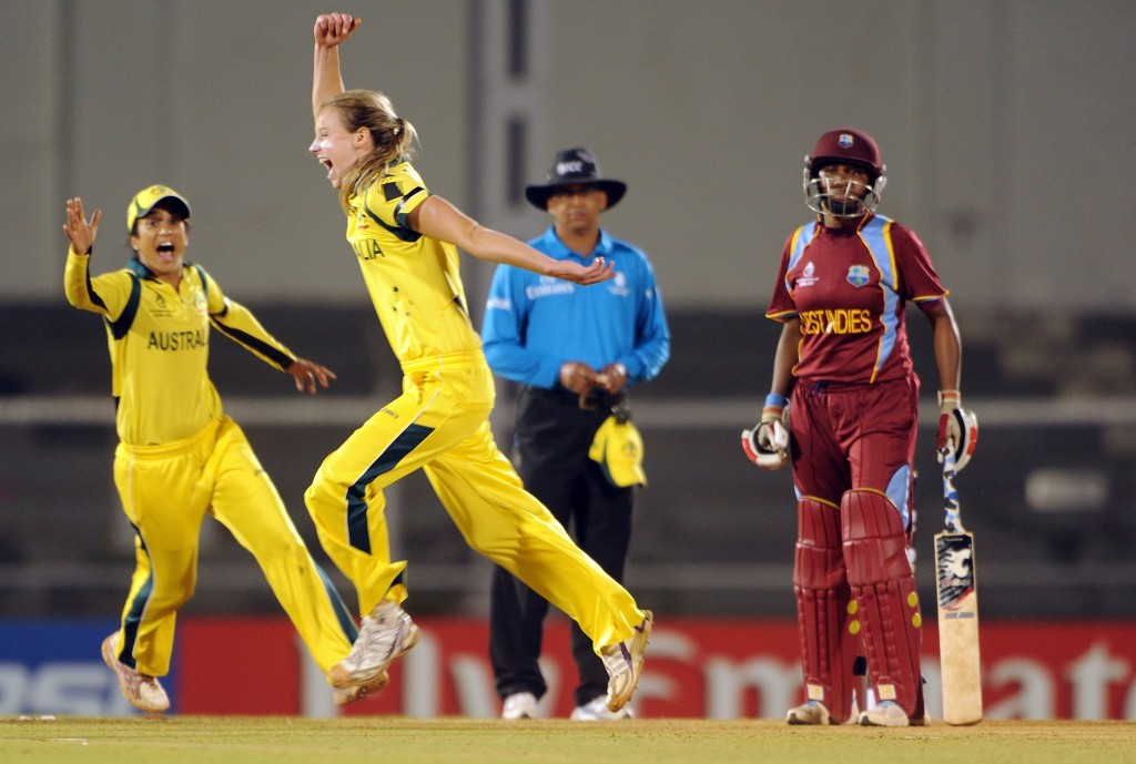 Australia won the 2013 ICC Women's World Cup in India, beating the West Indies in the final ©Getty Images