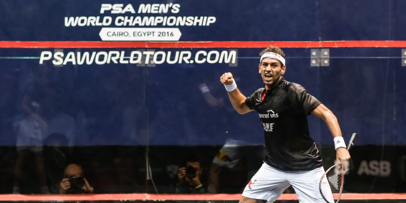 El Shorbagy sets up all-Egyptian PSA Men's World Championship semi-final with Gawad in Cairo