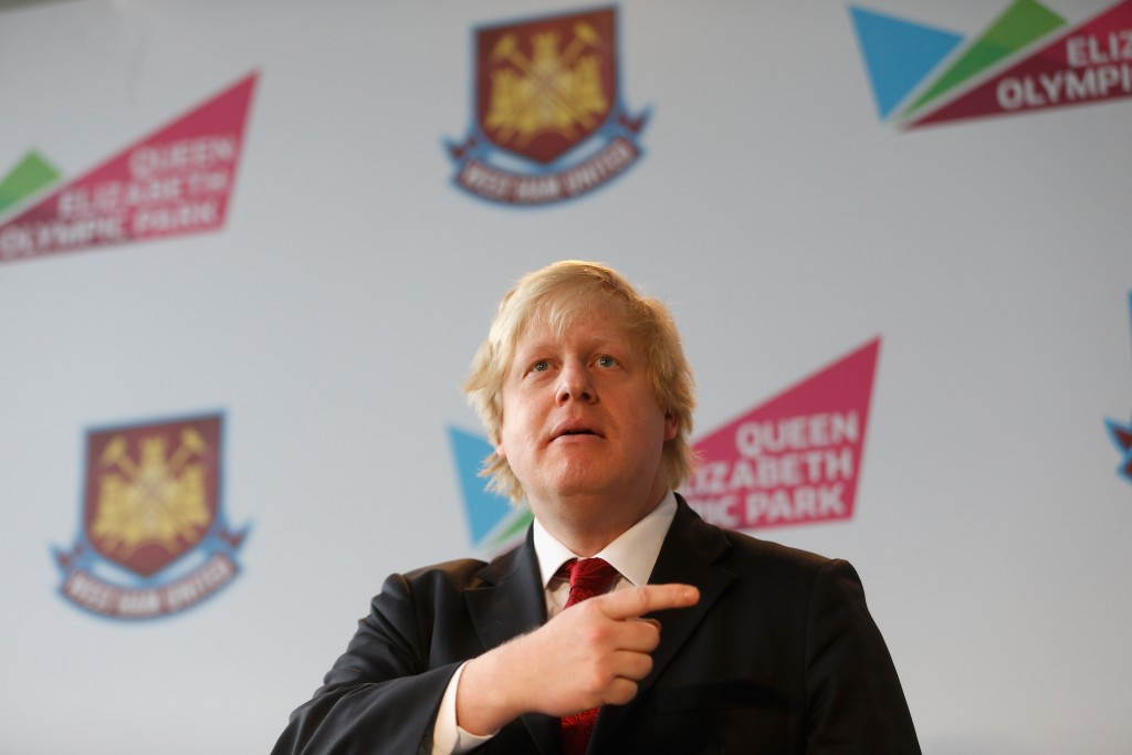 Former London Mayor Boris Johnson had estimated the costs of converting the Olympic Stadium into a football ground for Premier League West Ham United would be lower in 2015 ©Getty Images
