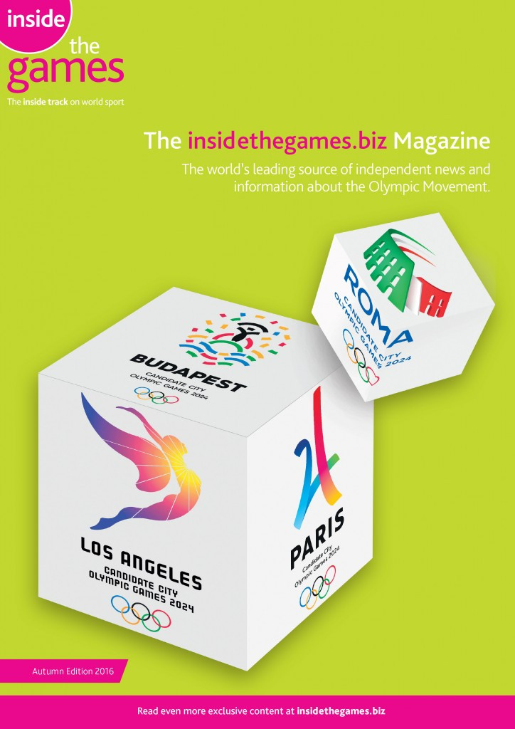 The insidethegames.biz Magazine Autumn Edition 2016