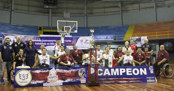 Mexico overcame Costa Rica to win the 2016 Centro Basket BSR Championships in San José ©IWBF/Twitter