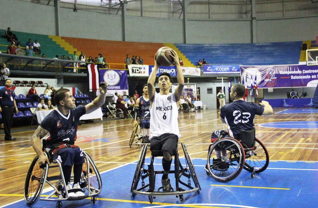 Despite trailing at half time, Mexico claimed the gold medal with a 59-48 win ©IWBF/Facebook