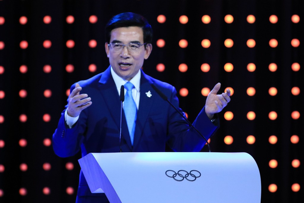 Beijing 2022 bid leader Wang Anshun has stepped-down as Mayor of the Chinese capital ©Getty Images