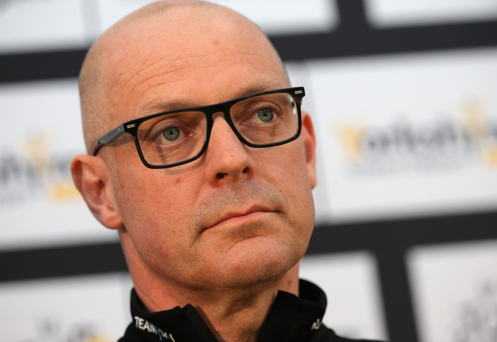 Sir Dave Brailsford stepped down from his role as performance director of British Cycling in 2014 in order to focus on his role with Team Sky ©Getty Images