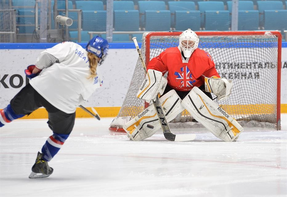 Britain leave it late to complete thrilling victory over Mexico at Olympic ice hockey qualifier