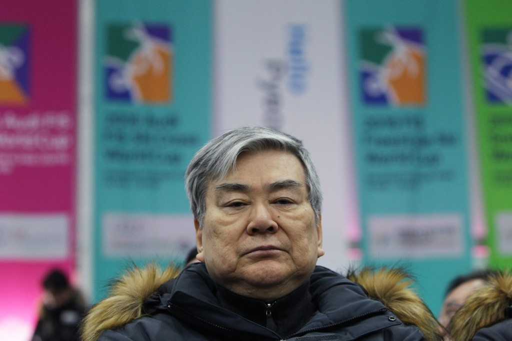The sudden nature of Cho Yang-ho's departure as Pyeongchang 2018 President has been questioned ©Getty Images