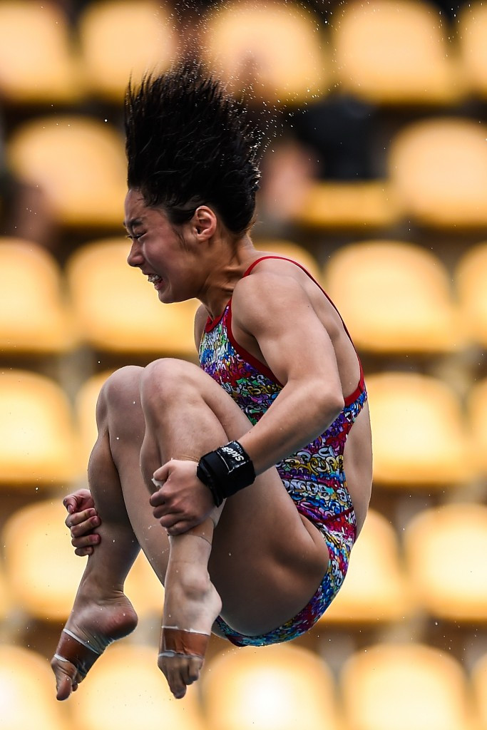 Japan dominate preliminary stages of FINA Diving Grand Prix in Singapore