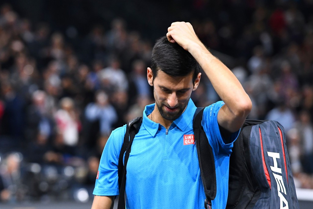 Novak Djokovic's world number one ranking hangs in the balance after his defeat ©Getty Images