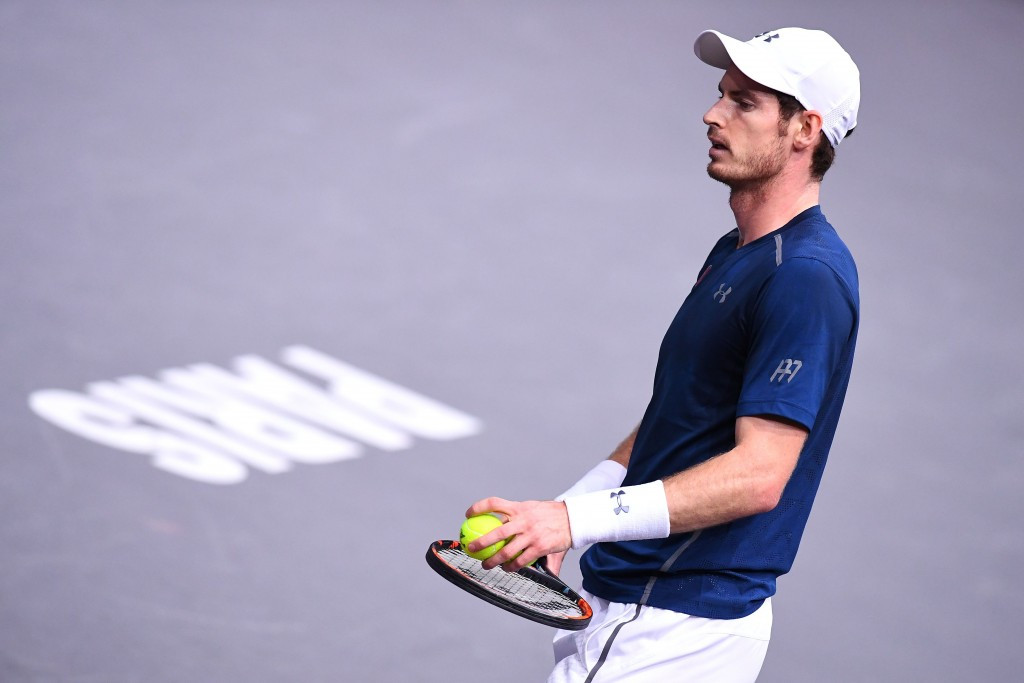 Andy Murray could top the men's rankings for the first time should he reach the final in Paris ©Getty Images