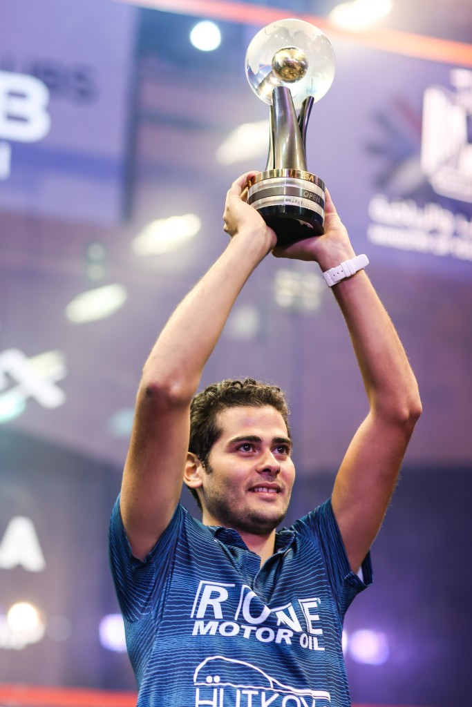 Gawad wins first-ever PSA Men's World Championship title after Ashour retires through injury