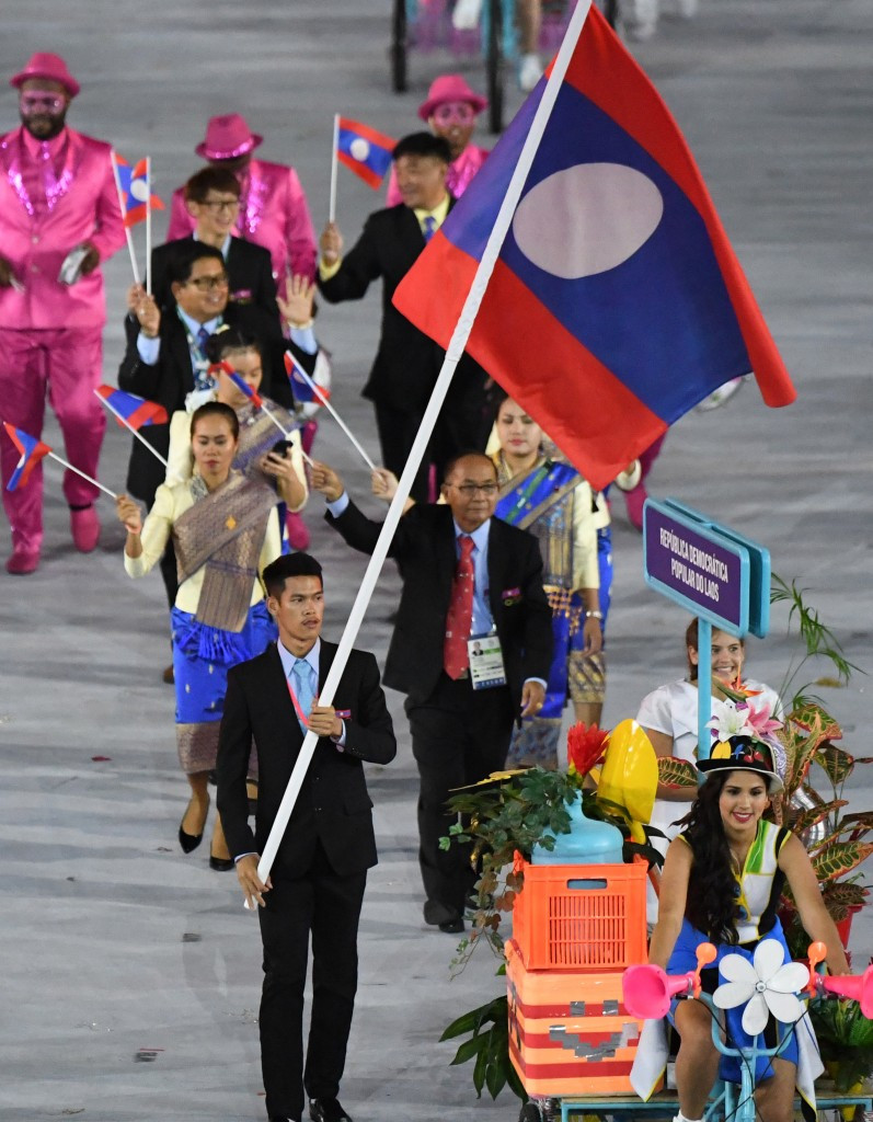 Laos sent six athletes to the Rio 2016 Olympic Games ©Getty Images