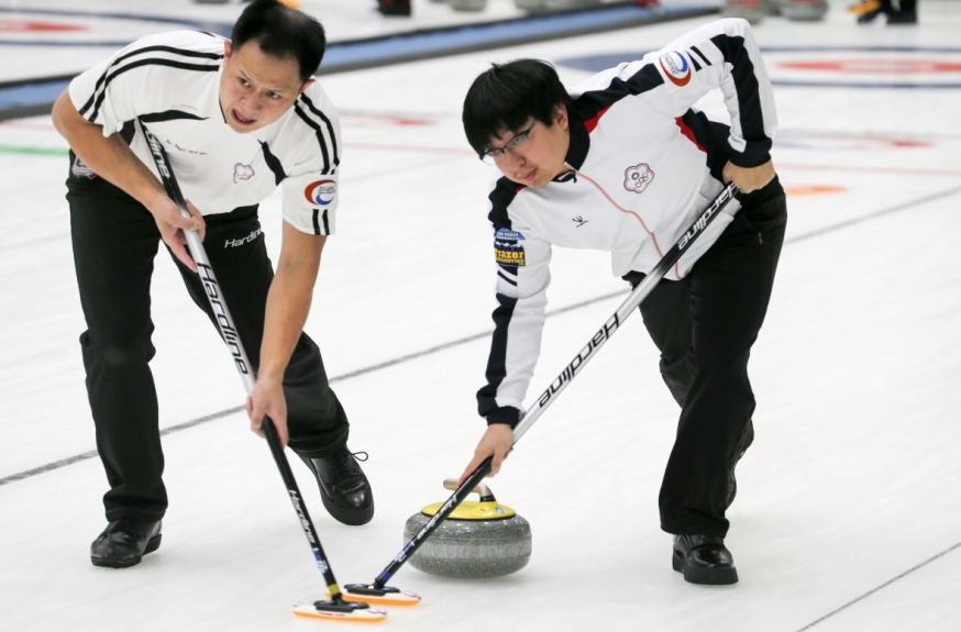 Chinese Taipei claimed an 8-3 win over New Zealand ©WCF/Richard Gray