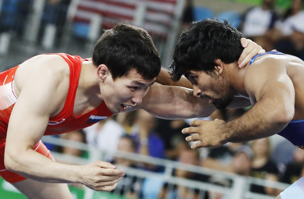 India dominate opening day of action at Commonwealth Senior Wrestling Championships