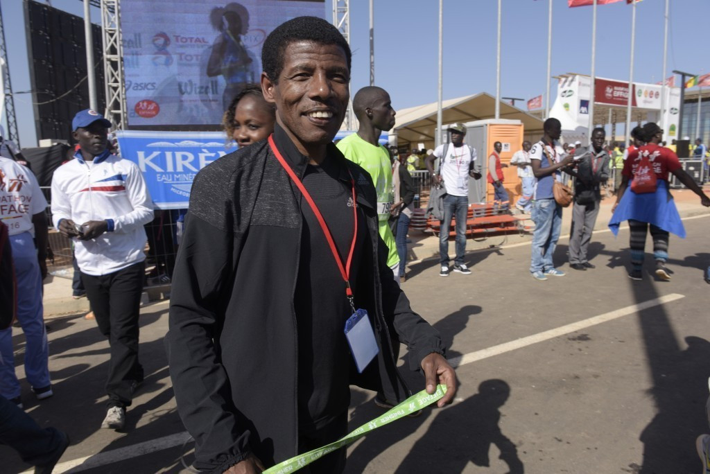 Haile Gebrselassie was among around 100 involved in Ethiopian athletics who protested about their home Federation's Olympic selection policy in July - now he is President ©Getty Images