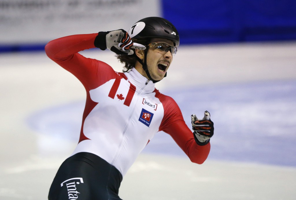 Girard delights Canadian crowd with gold at ISU Short Track World Cup