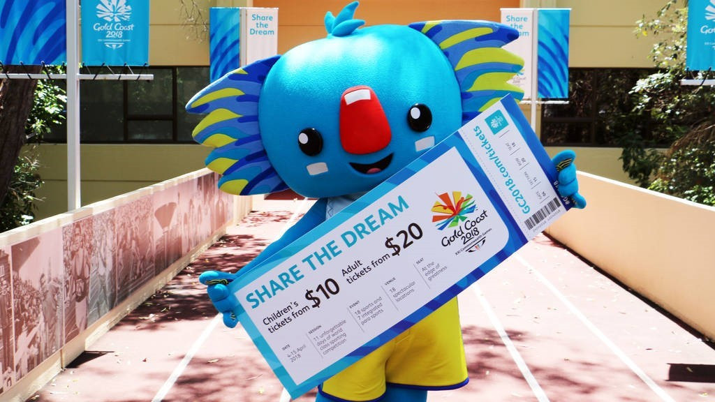 """Gold Coast 2018 reveal """"affordable and accessible"""" ticket prices for Commonwealth Games"""
