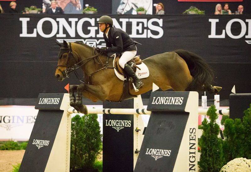Olympic silver medallist Farrington takes FEI World Cup Jumping title in Lexington