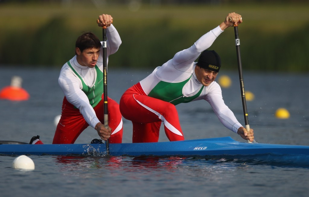 Andrei and Aliaksandr Bahdanovich were among those to have been implicated in a spate of doping failures within Belarusian canoeing ©Getty Images