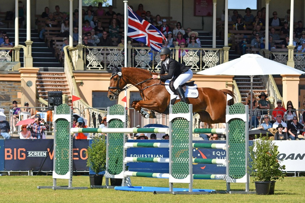 Shannon seals FEI Classics title in Adelaide as thoroughbred Clifford shines