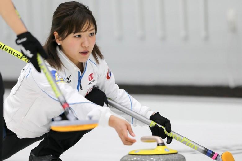 The women's tournament began with Japan among the winners ©WCF/Richard Gray