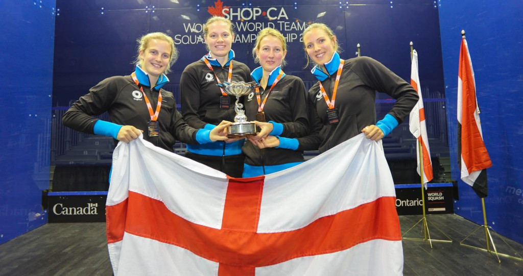 Defending champions England announce squad for Women's World Team Squash Championships
