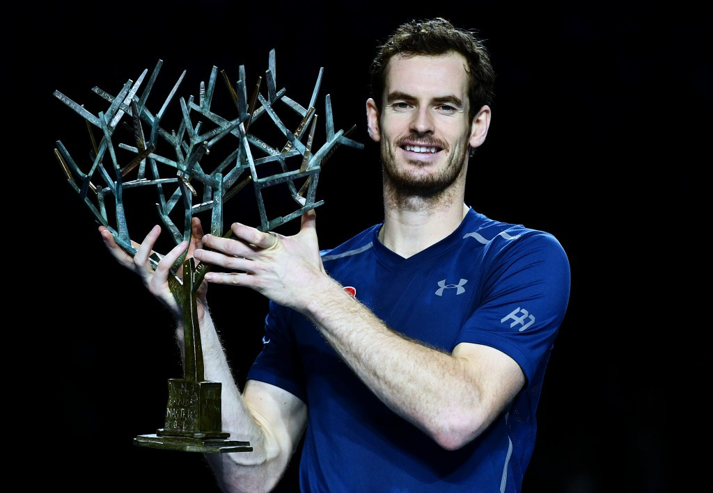 Andy Murray has earned his fourth straight title ©Getty Images