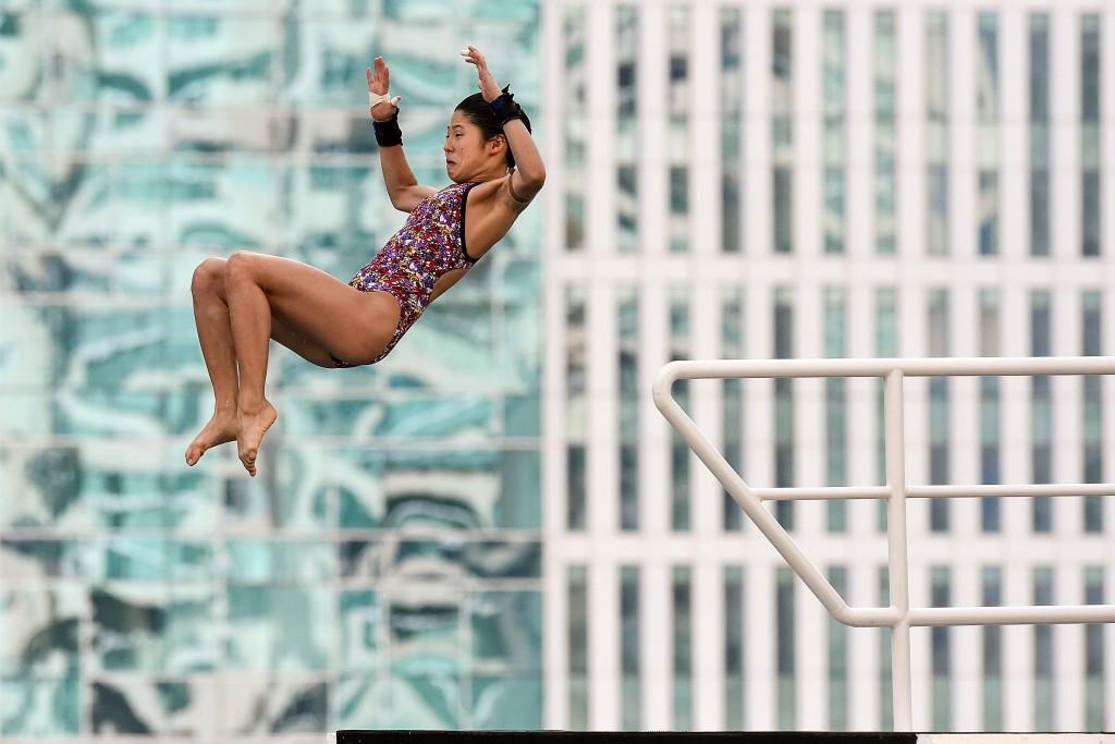 Sasaki secures gold at FINA Diving Grand Prix in Singapore