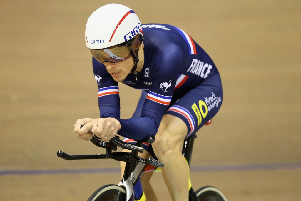 Sylvain Chavanel earned men's individual pursuit gold in Glasgow ©Getty Images