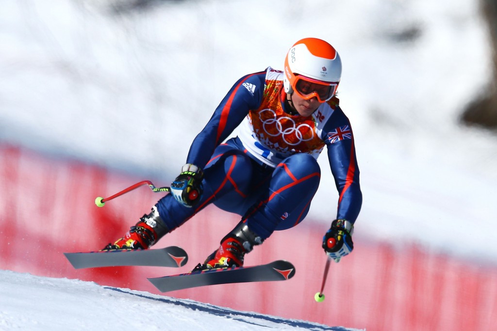 Chemmy Alcott competed at four Winter Olympic Games during her career ©Getty Images
