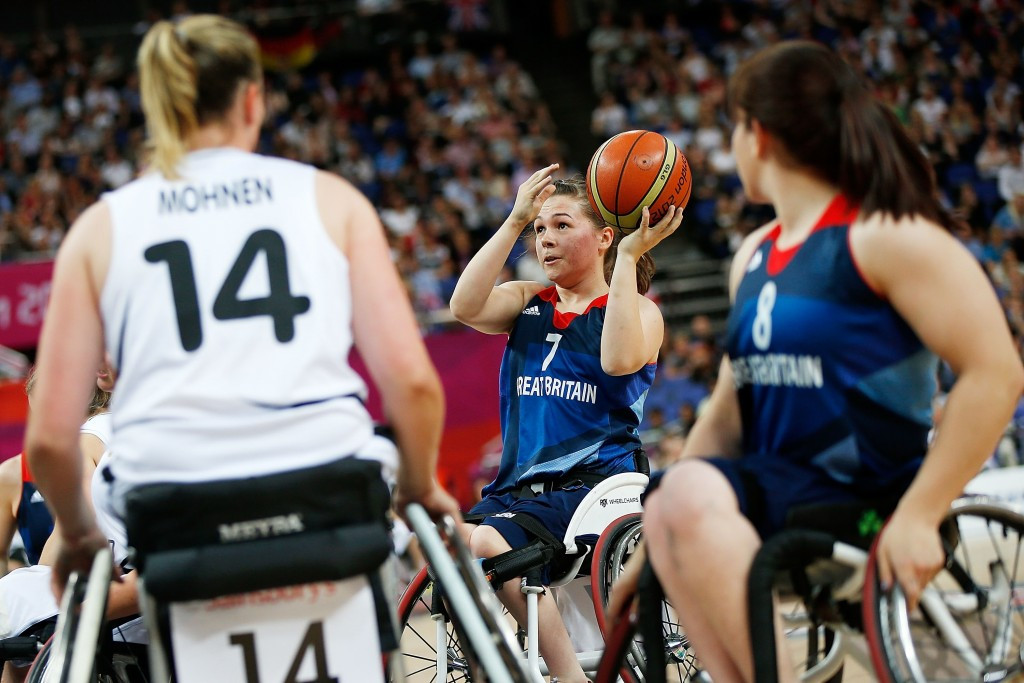 Britain choose 12-strong women's team for European Wheelchair Basketball Championships in Worcester