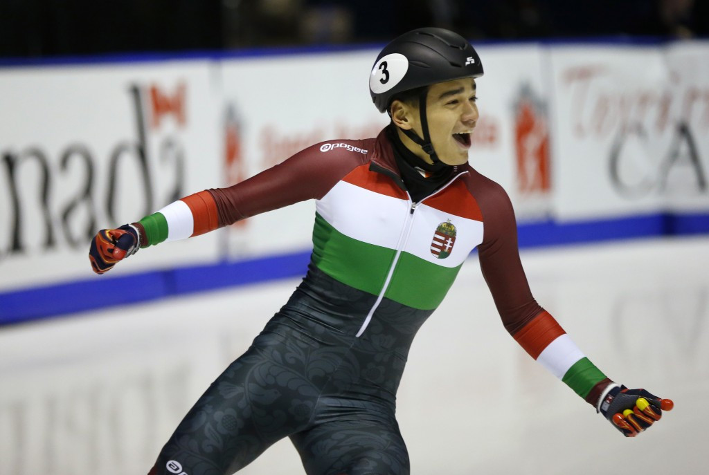 Shaolin Sandor Liu triumphed in the men's 500m for Hungary ©Getty Images