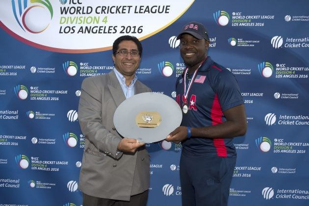 Hosts United States won the ICC World Cricket League Division 4 event in Los Angeles ©ICC