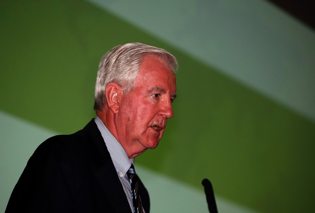 WADA President Sir Craig Reedie was not present at today's meeting ©Getty Images