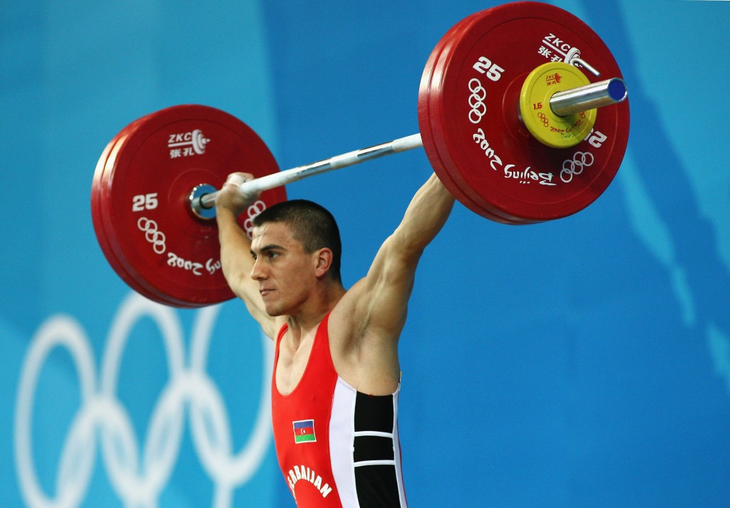 The International Olympic Committee has recently issued decisions in the re-analysis cases of 11 weightlifters, including Azerbaijan's Sardar Hasanov ©Getty Images
