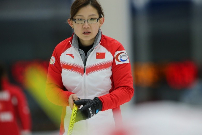 China were one of three nations to pick up two wins today in the women's Pacific-Asia Curling Championships ©WCF