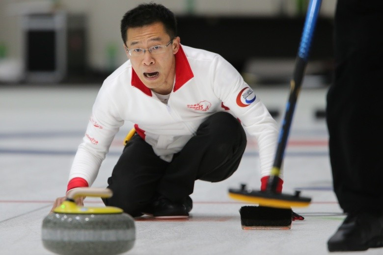 Hong Kong recorded their first-ever victory at international level by beating Qatar in the fourth session of the men's round-robin games at the Pacific-Asia Curling Championships ©WCF