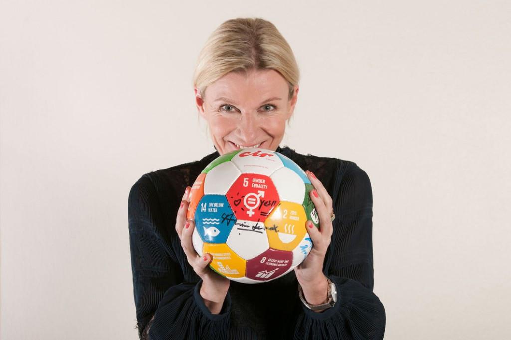 Majken Maria Gilmartin won the IOC Women in Sport Award for Europe ©IOC