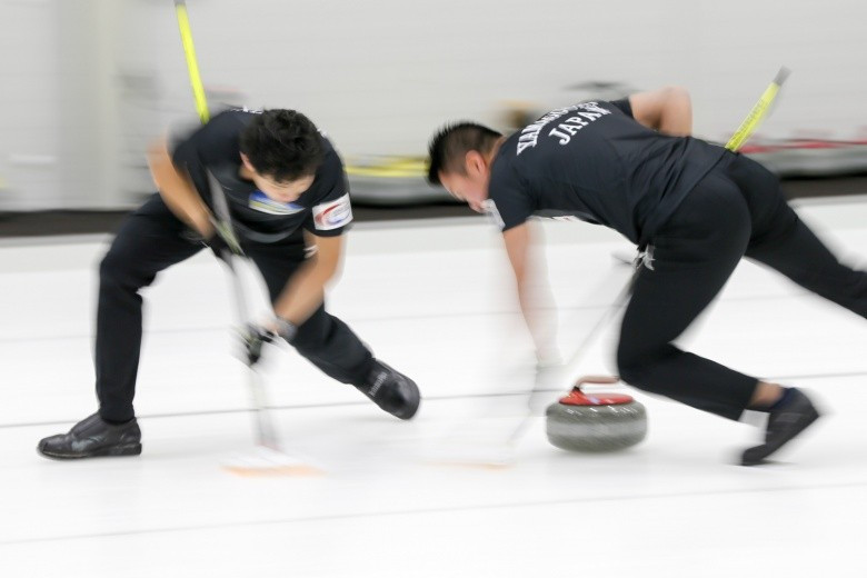 Japan defeated hosts South Korea 6-5 today at the Pacific-Asia Curling Championships ©WCF