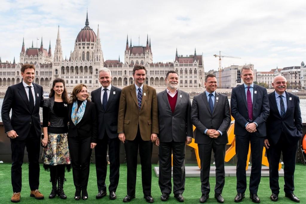 Budapest have unveiled nine ambassadors for their Olympic bid ©Budapest 2024