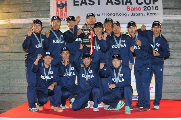 South Korea have beaten Japan to claim the East Asia Cup title ©ICC
