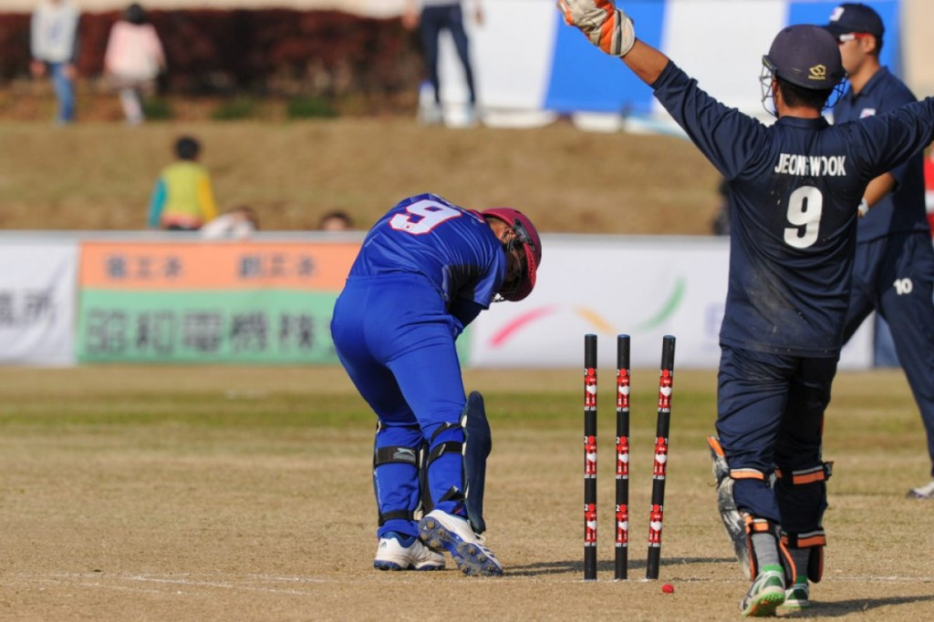 South Korea produced a strong bowling performance before doing enough with the bat ©ICC