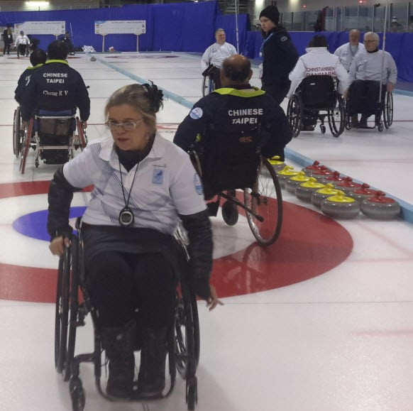 Scotland and Slovakia reach World Wheelchair-B Curling Championships playoffs