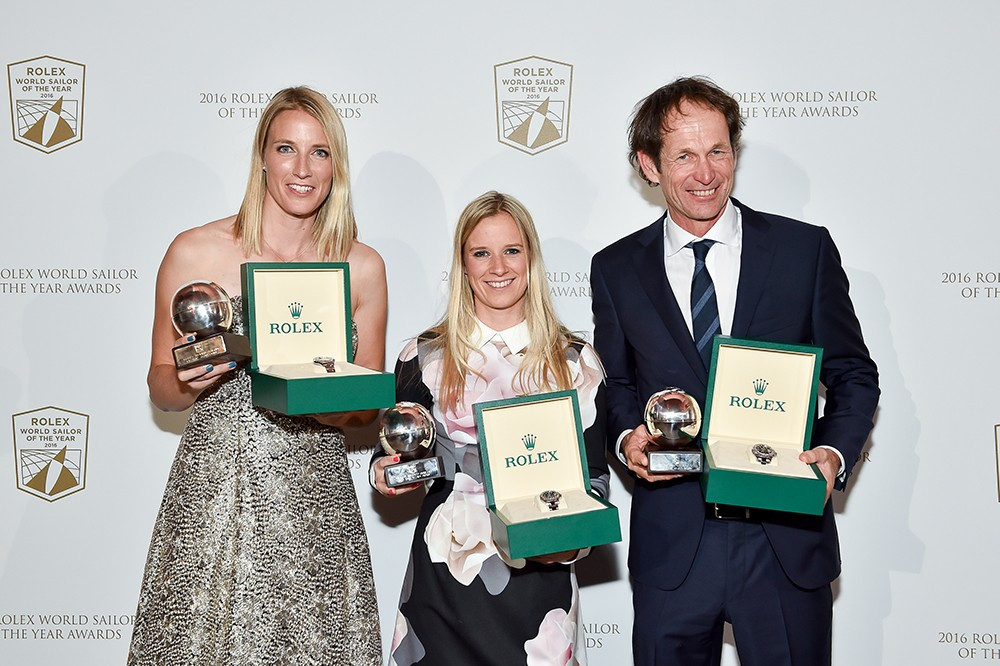 Olympic champions honoured at World Sailor of the Year Awards