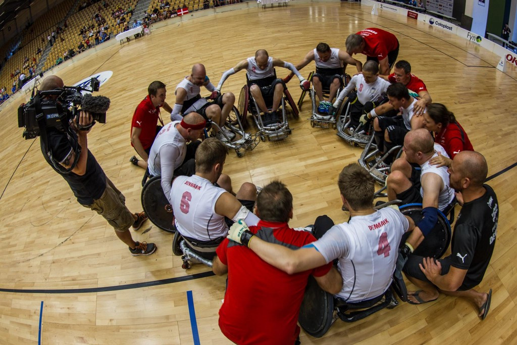 The Danish team claimed bronze medals at last year's IWRF European Championship ©Facebook