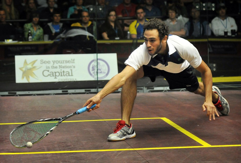 Ramy Ashour has been ruled out of the PSA Qatar Classic ©Getty Images