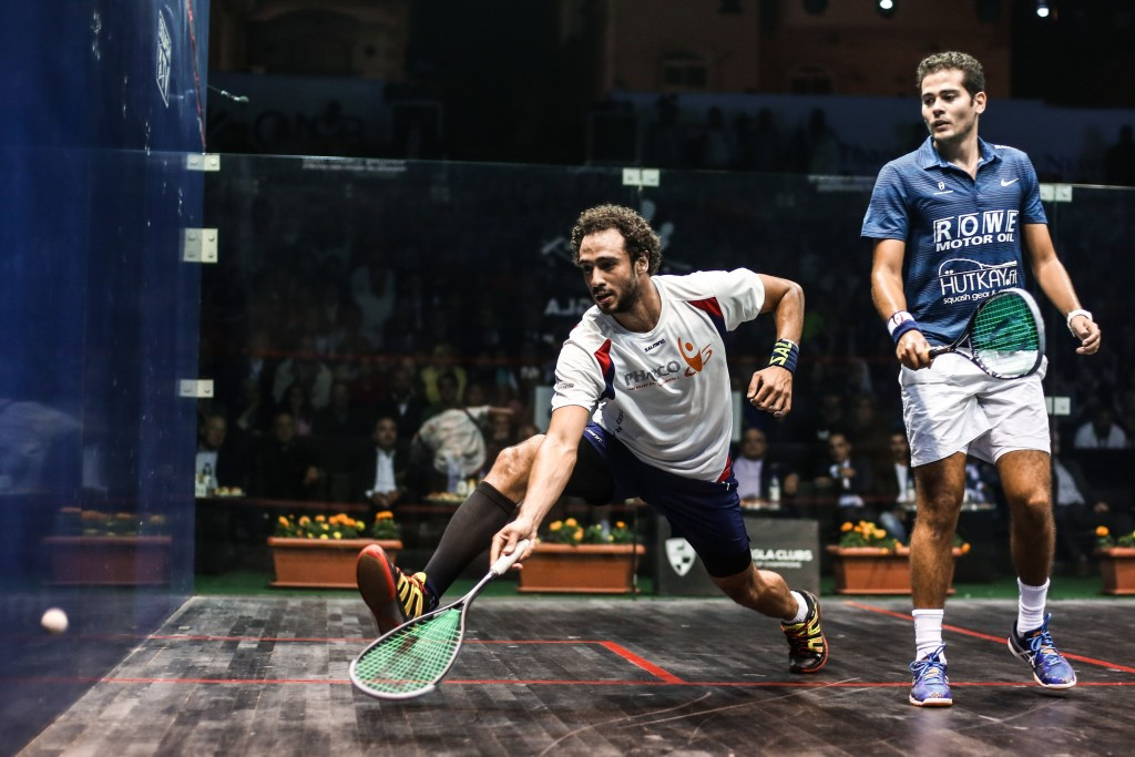 Ramy Ashour has failed to recover from the hamstring injury he suffered during last week's PSA World Championship final ©Getty Images