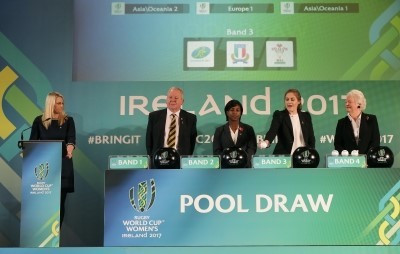 Hosts Ireland to meet Australia and France following draw for Women's Rugby World Cup